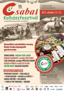 A Csabai Kolbász Fesztivál idén se maradhat el…